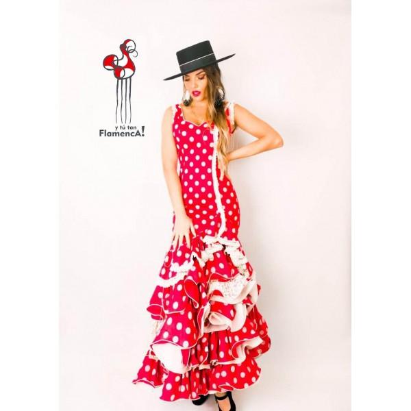 Traje de flamenca outlet modelo Granada talla 36