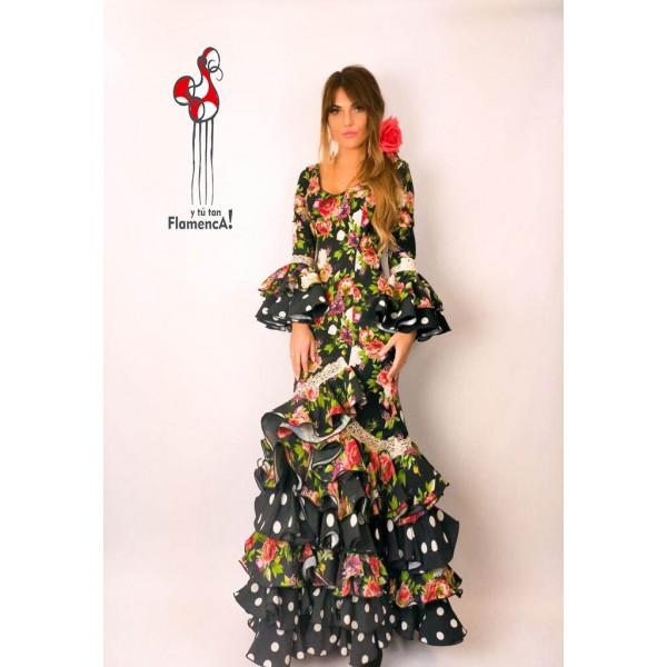 Traje de flamenca outlet modelo Floral Talla 38