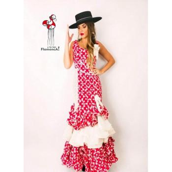 Traje de flamenca outlet modelo Solea talla 38