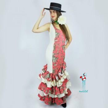 Traje de flamenca outlet modelo Saray Talla 38