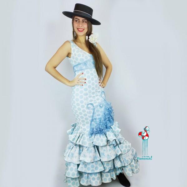 Traje de flamenca outlet modelo Marismeño talla 36