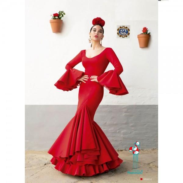 Traje de flamenca Marina