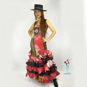 Traje de flamenca  Cuco Talla 40