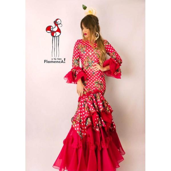 Traje de flamenca  Faralae Talla 42