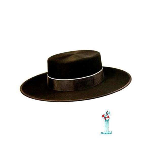 Sombrero cordobés - negro- adulto