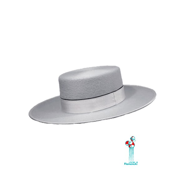 Sombrero cordobés -plata- adulto